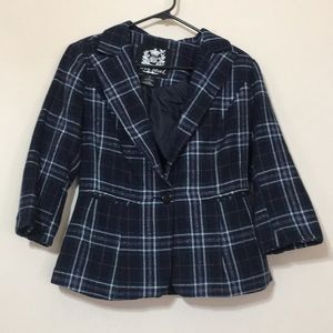 Wet seal plaid jacket